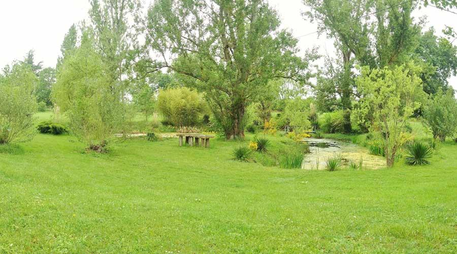 Les Lauriers de la Bastide : un domaine et un parc à louer